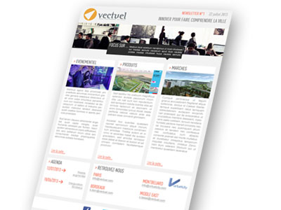 newsletter Vectuel